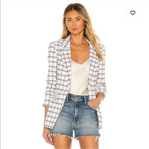 Cute White Patterned Blazer / new with tags